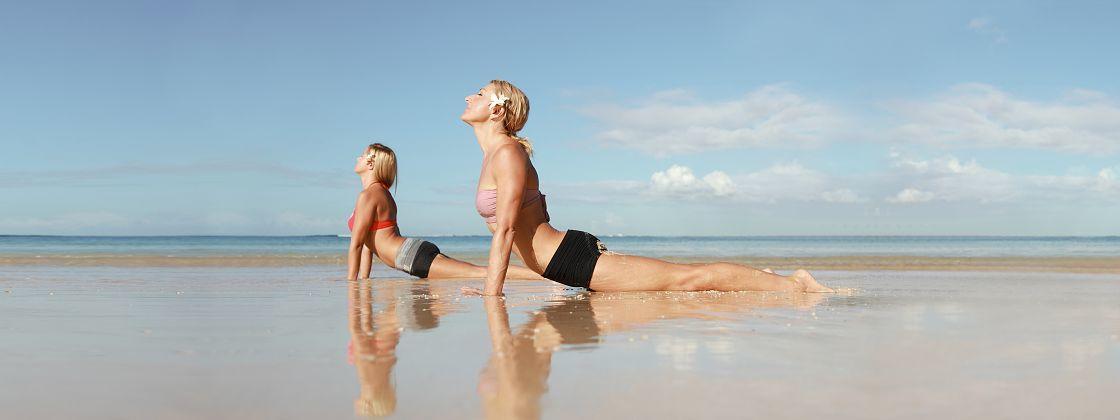 Beach Yoga Hawaii